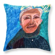 Senior Dignity Throw Pillow