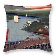 Senju No Oubashi Throw Pillow