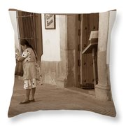 Senora Throw Pillow