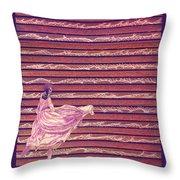 Senorita Dance Throw Pillow