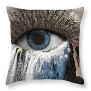 Sense Of Sight Throw Pillow