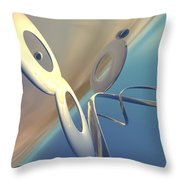 Sense Of Well-being Throw Pillow