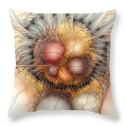 Sensorial Ignition Throw Pillow