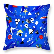 Sensory Chaos - Autism Throw Pillow