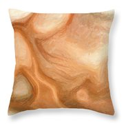 Sensual Disintegration Throw Pillow