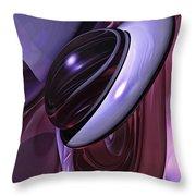 Sensual Healing Abstract Throw Pillow