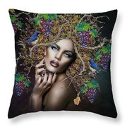 Sensually Sweet 02 Throw Pillow