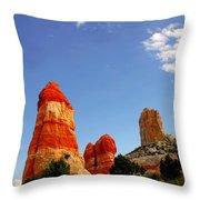 Sensuous Sandstone Throw Pillow