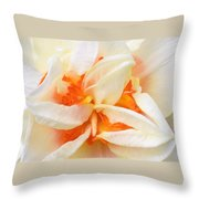 Sent Of A Beautiful Flower Throw Pillow