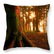 Sentiel Of The Forest Throw Pillow