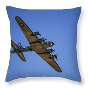 Sentimental Journey In Flight Throw Pillow