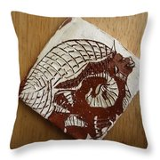 Sentinel - Tile Throw Pillow