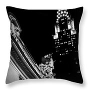 Sentinel For Grand Central Throw Pillow