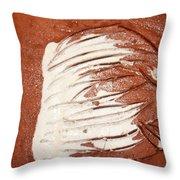 Sentry - Tile Throw Pillow