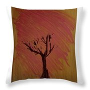 Separate Place Throw Pillow