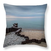 Separation And Division Throw Pillow
