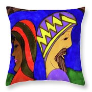 Separation  Causes Weakness Unity Produces Strength Throw Pillow