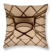 Sepia Lighted Box Throw Pillow