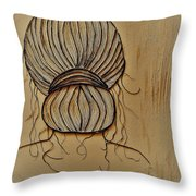 Sepia Throw Pillow