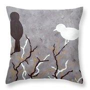 Sepia Simplicity Throw Pillow