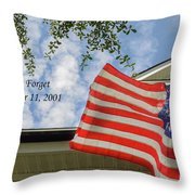September 11 Throw Pillow