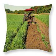 September 20-2016 Plowing Match  Throw Pillow