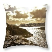 September Clouds Throw Pillow