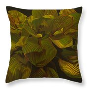 September Night Throw Pillow