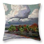 September Sky 2012 Throw Pillow