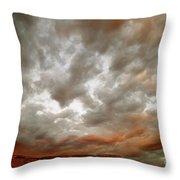 September Sky Throw Pillow