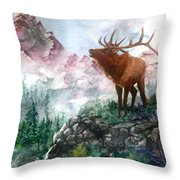 September Song Throw Pillow