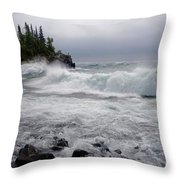September Storm #2 Throw Pillow