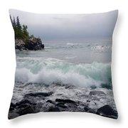 September Storm #3 Throw Pillow