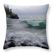 September Storm #4 Throw Pillow