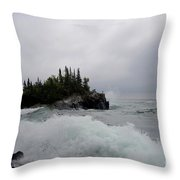 September Storm #5 Throw Pillow