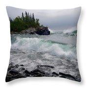 September Storm Throw Pillow