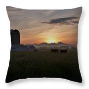 September Sunrise Throw Pillow