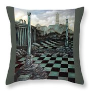 Sepulchre Throw Pillow