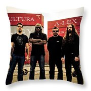 Sepultura Throw Pillow