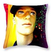 Sequin Sam Throw Pillow