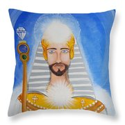 Serapis Bey Throw Pillow