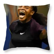 Serena Williams '16 Throw Pillow