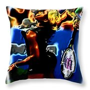Serena Williams Thermal Catsuit Throw Pillow