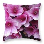 Serene Beauty Throw Pillow