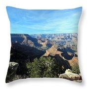 Serene Canyon Throw Pillow