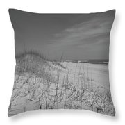 Serene Lookout Throw Pillow by Betsy Knapp