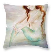 Serene Moments Throw Pillow