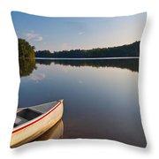 Serene Morning Throw Pillow