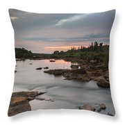 Serene Mornings Throw Pillow