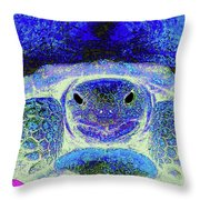 Serene Susie Throw Pillow